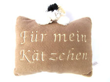 PLÜSCHKISSEN 27 x 23 cm - Schmusekätzchen Katze Kissen - 201055C