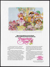 PEPPERMINT ROSE__Orig. 1992 Toy Trade Print AD__THOSE CHARACTERS FROM CLEVELAND