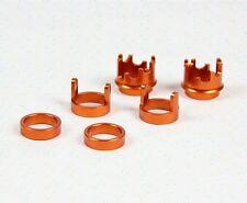 1/5 rc baja CNC adjustable set for shock absorber front & rear fit orange/silver