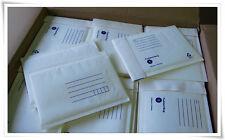 25 #01 160mm X 230mm Bubble Padded Bag Mailer * White Kraft Cushioned Envelope