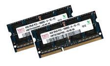 2x 4gb 8gb ddr3 1333 MHz RAM Asus Eee PC 1215b 1215n + Hynix + netbook memoria