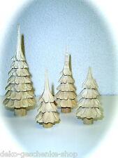 1 ud. tallado Árbol 8cm decoración de Navidad Bricolaje pirámides Arco luces