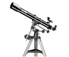 TELESKOP Fernrohr SkyWatcher 70/900 EQ1 +  BUCH Teleskop1x1, BKR709EQ1