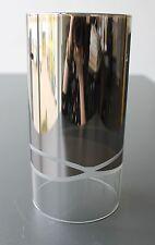 Cristal Pantalla de lámpara vidrio de reemplazo CILINDRO TRANSPARENTE E27