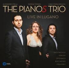 Giorgia Tomassi - The Pianos Trio-Live in Lugano /0