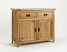 Medium Wood Tone Rustic Oak Sideboards, Buffets & Trolleys