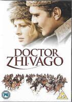 Doctor Zhivago Omar Sharif Julie Christie Edizione Speciale Box Set UK DVD Nuovo