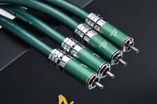 Hifi RCA Cable High Quality 7N OCC Dual RCA Male to Dual RCA Male Audio Cable