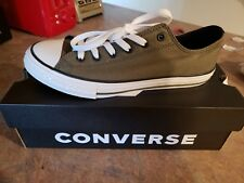 Converse youth size 5 Green
