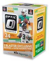 New 2020 Panini Donruss Optic Football Blaster Box NFL Tua Herbert Burrow Hurts?