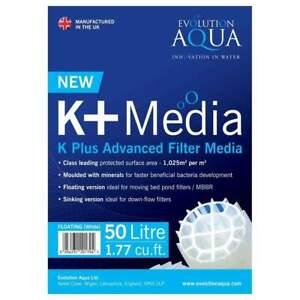 Evolution Aqua K+ Media For Fish Tank And Koi Pond Filters