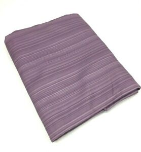 """Twin Size BED SKIRT Tailored Dust Ruffle 100% POLYESTER Purple [39"""" x 75"""" x 14""""]"""