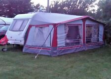 NR Full Carvan Awning Size 11, 900-925 Excellent Condition Red