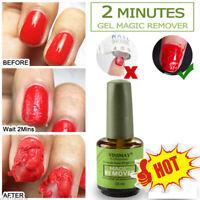 15ml-NEW Nail Gel Magic Remover Soak Off Base Top Coat Nail Art Primer Lacquer