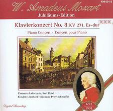 W. Amadeus Mozart Klavierkonzerte No. 8 KV 271, ES - Dur Piano Concerts CD