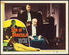 "Poster Lobby Card Son of Dracula 1948 (1943) 11""x14"" VF 7.5 Lon Chaney Jr."