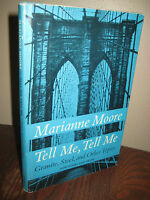 1st Edition Tell Me Granite Steel Marianne Moore Poems 3rd Printing Poetry Prose