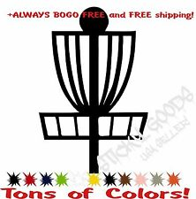 Disc Golf Vinyl Decal for Disc, Car or Truck Window, Cooler, Laptop, BOGO FREE!!