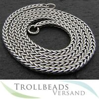 TROLLBEADS Sterling Silber Hals Kette 70 cm TAGNE-00008 Sterling Silver Necklace