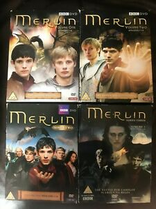 Merlin Series 1 2 3 4 & 5 DVD Boxsets Choose From List