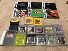 Lot of 13 Nintendo Game Boy (Color) Games + Manuals + Cleaning Kit Donkey Kong