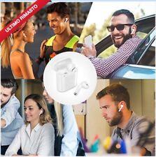 Auricolare Bluetooth Universale Cuffie Wireless Senza Fili Con Microfono