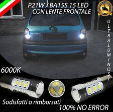 COPPIA LAMPADE RETROMARCIA 15 LED P21W CANBUS OPEL CORSA B NO ERROR