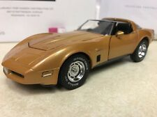 1/24 Franklin Mint 1982 Corvette Gold Serial Number 82  S11E428