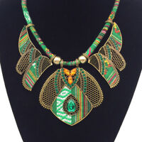 Fashion Women Boho Choker Necklace Tribal Vintage Ethnic Jewelry Gift