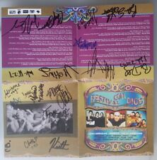 Festival Con Dios 2001 Autograph CD Booklet Newsboys Skillet Switchfoot Audio A