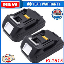 18V 1.5Ah 18Volt For Makita LXT BL1830 BL1815 BL1845 Compact Lithium Ion Battery