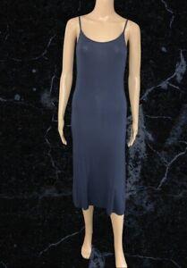 BNWT Cream Navy Strappy Maxi Dress Size Large