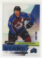 2020-21 Synergy Exceptional Stars #ES36 Nathan MacKinnon Avalanche /749 BX3
