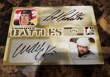 2005 ITG In The Game Dual Auto BOB PROBERT & WENDEL CLARK Famous Battles SP