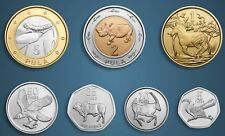 BOTSWANA - SET de 7 PIECES - 2013 - serie ANIMAUX - TOP - NEUF