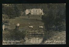 Somerset BRENT KNOLL Ball Copse Hall c1900/20s? RP PPC by CP