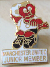 Manchester United Rara Vintage Badge Maker Reeves bham Broche Pin 20mm X 29mm