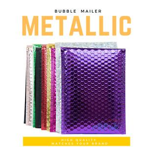 Premium Metallic Padded Bag Bubble Mailer Envelope 01 160 x 230mm