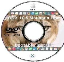 Unità DVD DL programma di installazione: OS X Mountain Lion 10.8