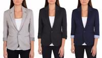 NEW w/ Tags Original Nicole Miller Women's 3/4 Sleeve Jacket Black