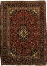 Traditional S Antique Handmade Mashad Persian Rug Oriental Area Carpet 6'7X9'3