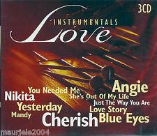 Instrumentals Love (1999) BOX 3CD NUOVO Nikita. Yesterday. Blue eyes. Love Story