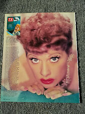 LUCILLE BALL I LOVE LUCY PAINTED FINGER NAILS MAGAZINE ADVERTISEMENT PRINT AD