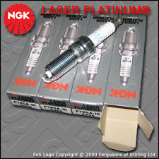 NGK LASER PLATINUM SPARK PLUG SET PTR5A-10 x4 STOCK NO. 5055