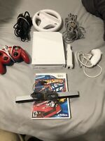 Nintendo Wii Console Games Bundle RVL-001 White Tested Works Gamecube compatible