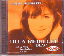 ZOUNDS - ULLA MEINECKE - Feuer Unterm Eis - Best - rare audiophile CD 1999
