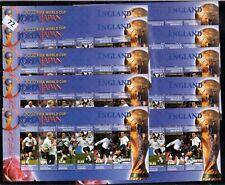 // 10X DOMINICA 2002 - MNH - SOCCER - ENGLAND