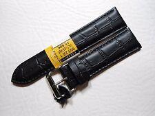Uhrenarmband Leder Qualität Armband Watch Strap Leather Band Kroko Print 20 mm ,
