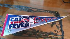 MONTREAL EXPOS  CATCH THE FEVER PENNANT NEW