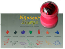 NEW Dinosaur Dino Stampers Set of 7 - Stamps Stamp Set - Kids Craft - Trex T-rex